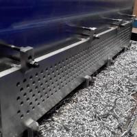 Обработка доски трубной из нержавеющей стали 08Х18Н10Т-М4б на обрабатывающем центре