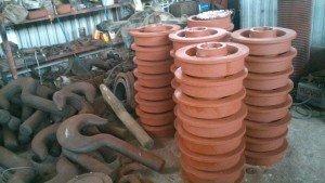 изготовление колес крановых одноребордных
