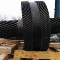 Шевронное колесо зубчатое в сборе (диаметр ф842мм модуль m=6)