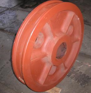 колесо крановое ф1000 двухребордное