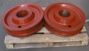 колеса крановые двухребордные К2Р