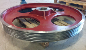 отгрузка шкива D1800 мм