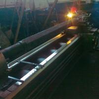 Обработка вал-шестигранника (L-2669мм твердость 42 HRc ) после термообработки