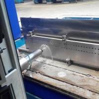 обработка доски трубной на станке