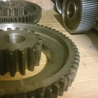 Фотография готовых зубчатых колес