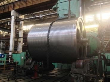 Изготовление грузового барабана на предприятии Калужского опытно-механического завода