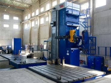 Фото станка в цеху на Калужском опытно-механическом заводе